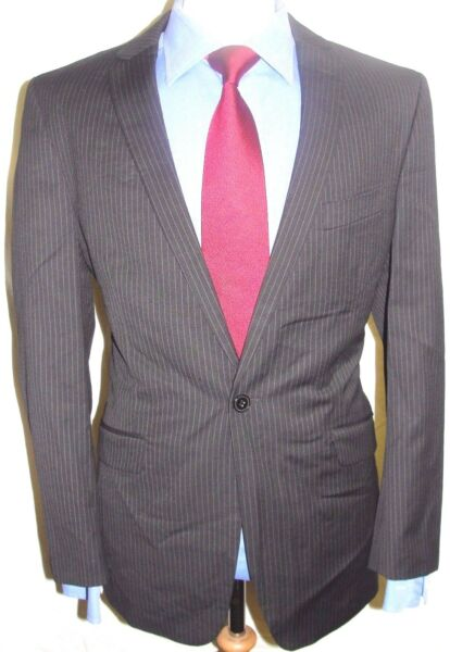 *** Cartello ** Designer Superba Cartello Lusso Tuta C40r; W36/l 32 **-erb Cartel Luxury Designer Suit C40r; W36 / L32**