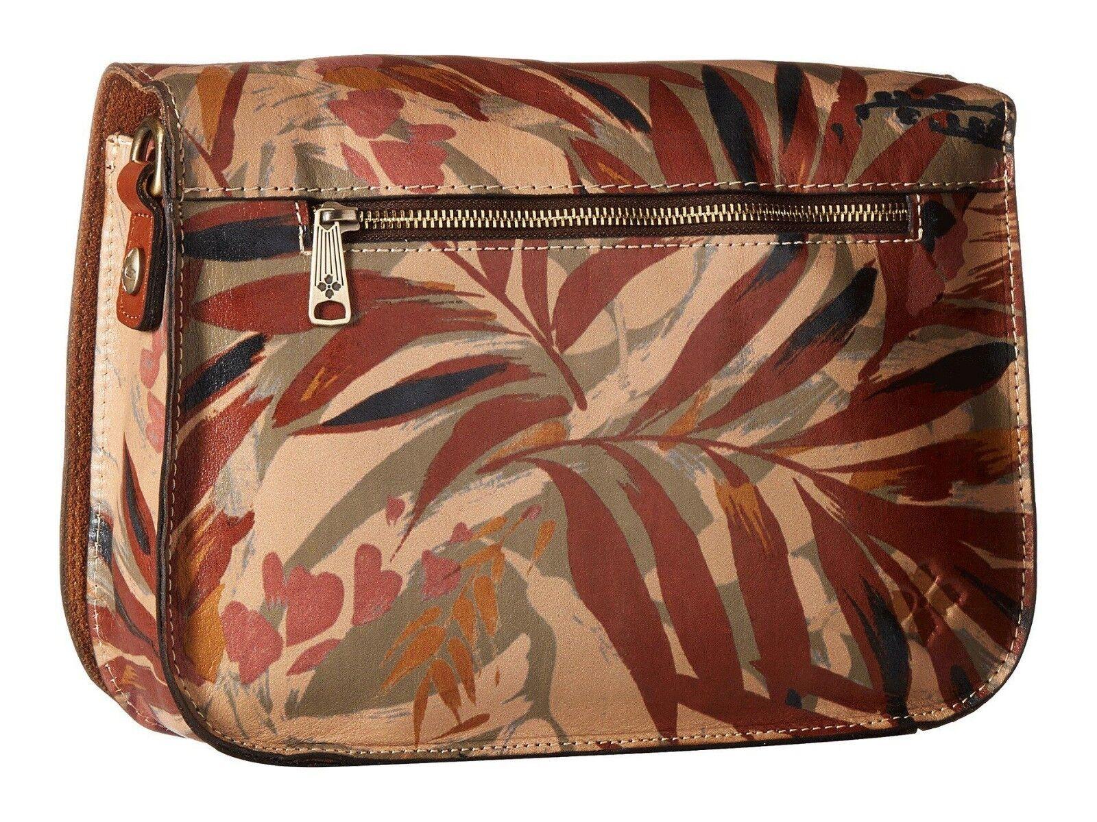 Neu Patricia Nash Leder Mondovi Überschlag Crossbdody Schultertasche Palm       Feinen Qualität    Billig ideal    Bevorzugtes Material  1a0bbd