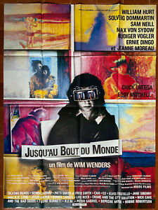 Plakat Ragetti Du Monde Wim Wenders William Hurt Sam Neill 120x160cm