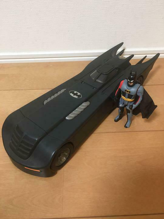 BATMAN MOBILE CAR DIECAST FIGURINE FIGURE COLLECTIBLE KENNER USA 1993 MODEL RARE