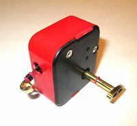 Bright Red Musical Gift Sankyo Music Box Movement - Songs T Through Z