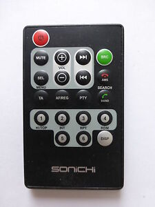 Sonichi in car cd player remote control ebay image is loading sonichi in car cd player remote control publicscrutiny Images