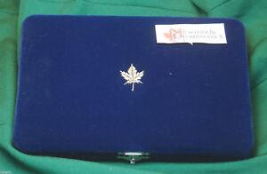 1992-CANADA-EMPTY-CASE-no-coins-for-12-coin-Provincial-quarter-set-V-nice