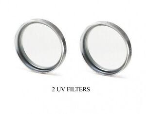 2 UV Filters for Panasonic DMC-FZ28 Panasonic HDCSD700 Panasonic HDCTM700PPC Panasonic DMC-FZ28S Panasonic DMC-FZ28K