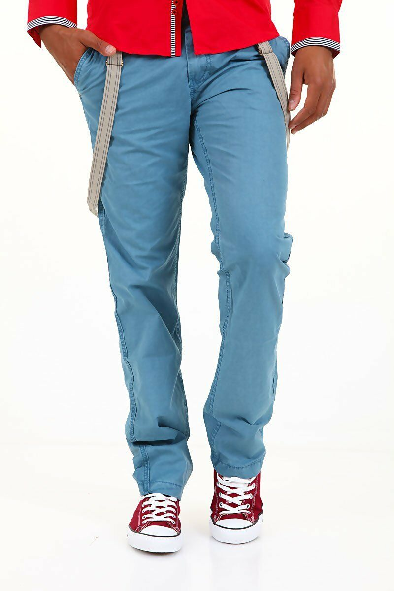 Pantaloni men Jeans URBAN SURFACE Azzurro blue Bretelle Staccabili B023 Tg 36