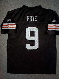 Image is loading REEBOK-Cleveland-Browns-CHARLIE-FRYE-nfl-THROWBACK-Jersey- d507b0109