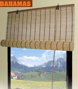 Bamboo Roll Up Window Blinds 3 Sizes Available 30 Quot 36