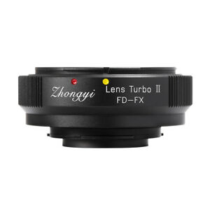 Details about Lens Turbo II adapter for Canon FD mount lens to FUJIFILM  XPro2 XH1 XT3 XT20 T1