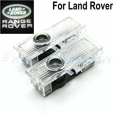 2LED Car door Led Welcome laser projector Logo Ghost Shadow Light For Land rover