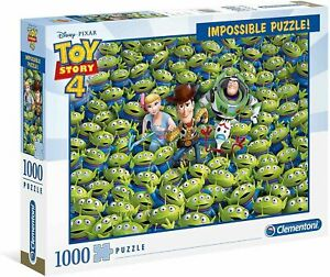 Clementoni 1000 Piece Impossible Jigsaw Puzzle Toy Story 4