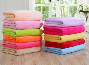 Versatile-Super-Soft-Warm-Fleece-Small-Throw-Blanket-Microplush-Multipurpuse-New