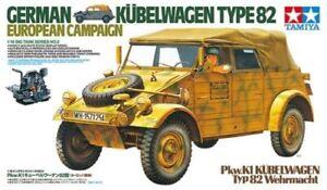 Tamiya 1 16 Mezzo Militare German Kubelwagen Type 82 European Campaign 36205