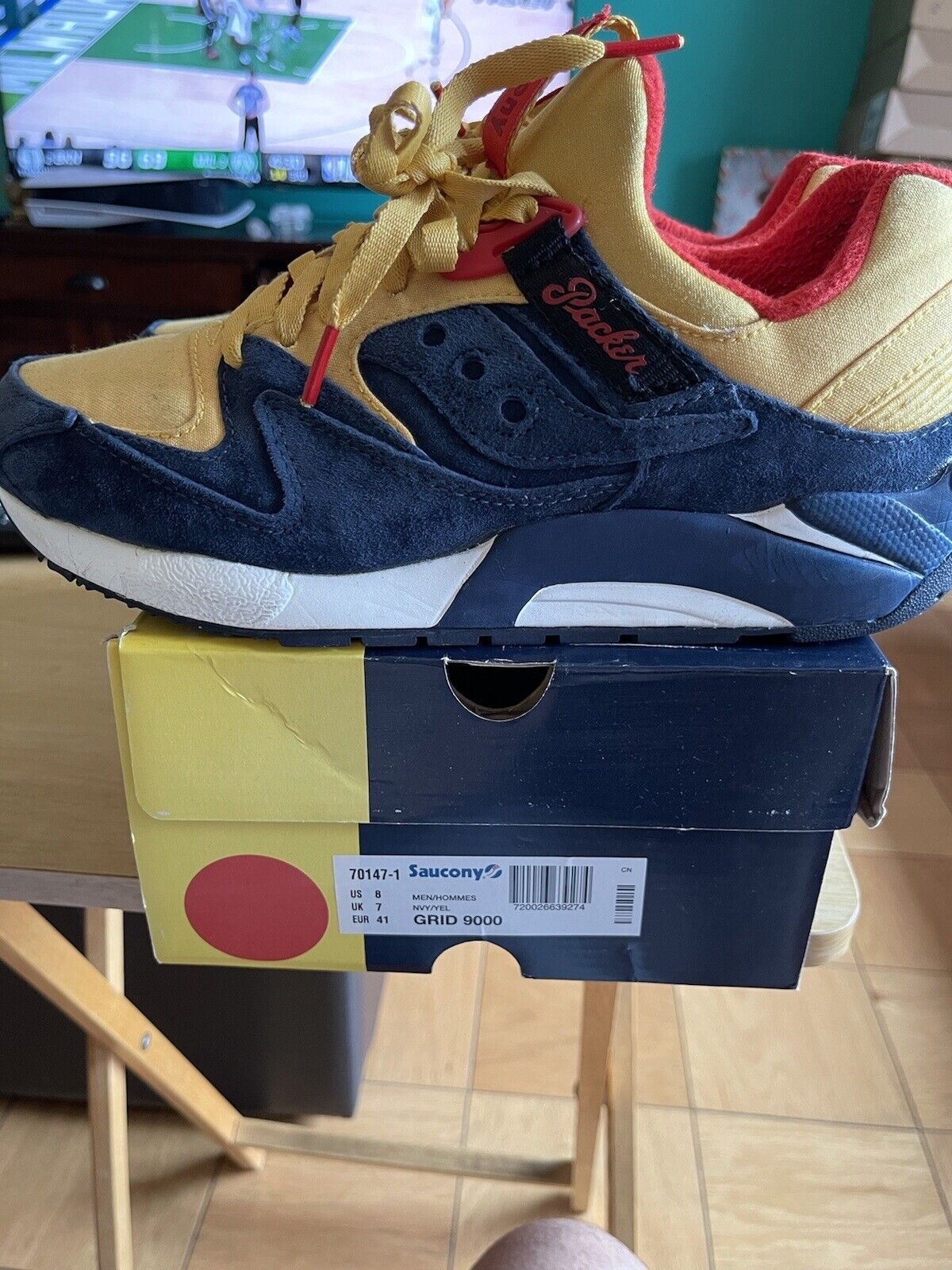 Packer Shoes Saucony Grid 9000 Just Blaze Snow Be… - image 3