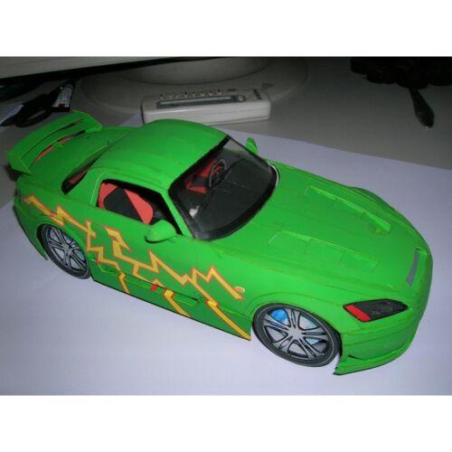 PAPER MODEL KIT CIVILIAN CARS TWO-SEATER CONVERTIBLE HONDA S2000 1//18 OREL 21