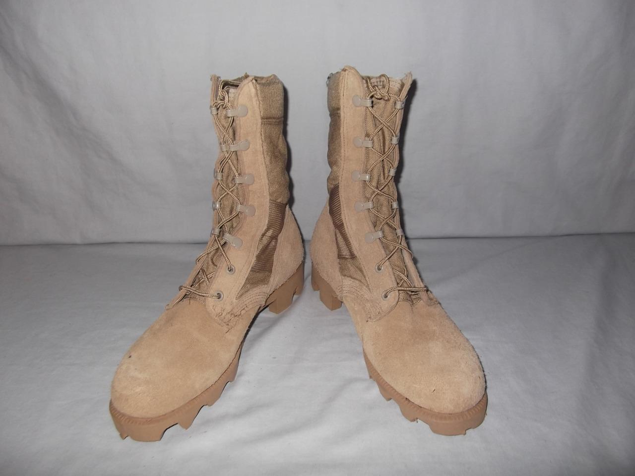 Military Stiefel 7 N Desert Tan Hot Weather US Army Hunt Work Men Boys  29