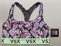 Victoria's Secret L The Player Racerback Sport Bra 36c-d/38a-c Yoga Fit