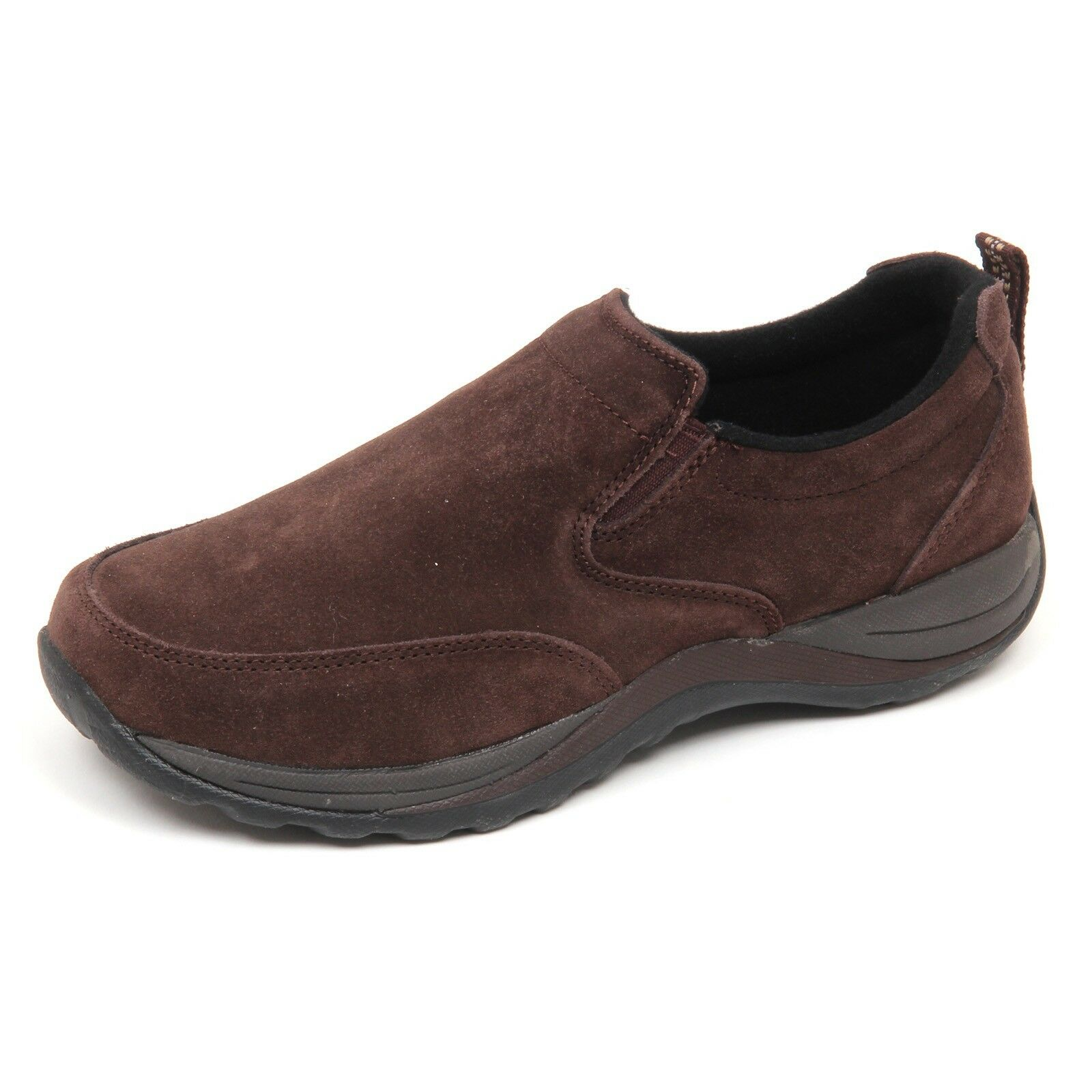 D5020 zapatos hombre on L.L.BEAN WITHOUT BOX suede Marrón slip on hombre zapatos hombre a3ffcd
