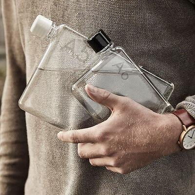 NEW Memobottle slimline water bottle Men's by The Design Gift Shop
