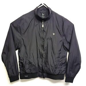 ab95c184f Henleys Mens Bomber Jacket Black Size 5 Large Waterproof Material ...