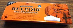 NEW BELVOIR TACK CONDITIONER GLYCERINE CONDITIONING SADDLE SOAP IN TRAY HORSE