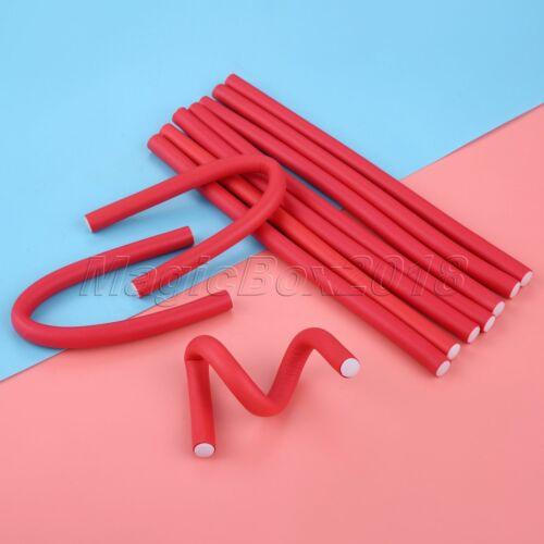 Practical Hair Styling Roller Soft Foam Sponge Curler 7 Sizes Optional 10Pcs//Set