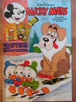 MICKY MAUS Nr. 2 - 4.1. 1986 mit Beilage Disney 2 STAR STICKER
