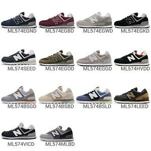 f3865edb9c3 New Balance ML574 D 574 Retro Mens Running Shoes Sneakers Lifestyle ...