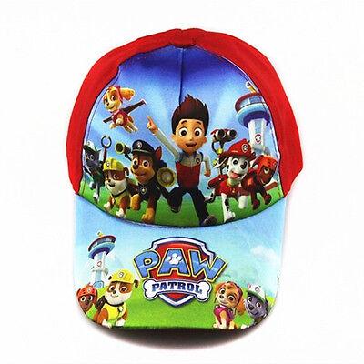Hot Paw Patrol Kids Children Boy Girl Canvas Adjustable Sun Baseball Cap Hat Toy
