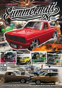 Official-Street-Machine-SUMMERNATS-28-DVD-3-Disk-Set-Cruisin-039-Burnout-Masters