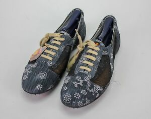72 Floral The Women's Fashion Size Shoes Flats 41 Original Maximum Blue Barcelo RwFB6w