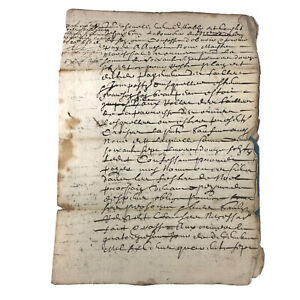 1647-European-Paper-Handwritten-Manuscript-Codex-Legal-Document-Old-Rare-Doc