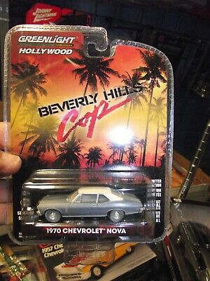GREENLIGHT 44870 D BEVERLY HILLS COP 1970 CHEVROLET NOVA 1//64 UNRESTORED