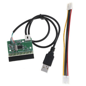 1-44Mb-3-5-034-Floppy-Drive-Connector-34-Pin-34P-To-Usb-Cable-Adapter-Pcb-Board-V