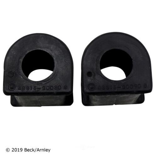 Suspension Stabilizer Bar Bushing Kit Front Beck//Arnley fits 98-03 Toyota Sienna