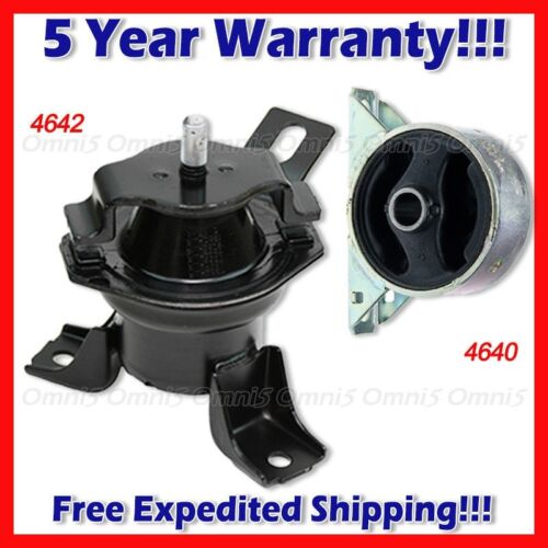 Front /& Front Right Motor Mount L624 Fits 03-06 Mitsubishi Outlander 2.4L AUTO