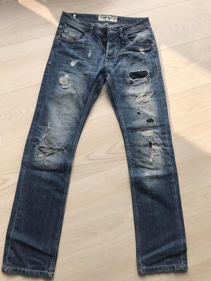 ef3236a9 Jeans, Trn, str. 28 – dba.dk – Køb og Salg af Nyt og Brugt