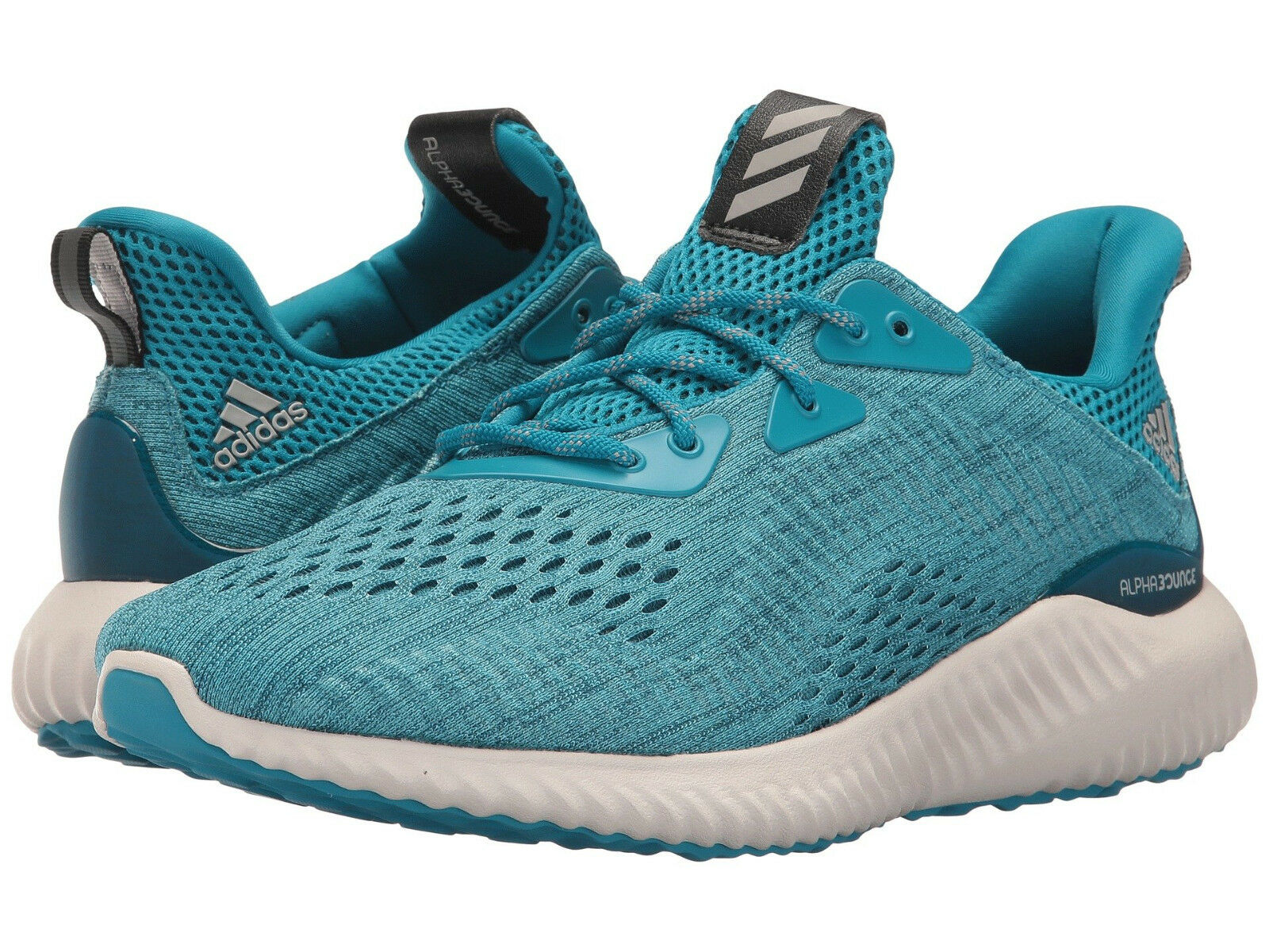 Adidas Synthetic Men's Alphabounce US 12 M Blue Synthetic Adidas Running Sneakers Shoes 110.00 c2bf1d