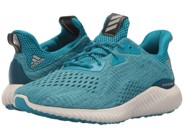 a39ff1cd1 adidas Alphabounce EM By3846 Shoes Mystery Petrol Grey Night Teal Men 12