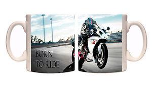 Juko Carl Fogarty Motorbike Mug Foggy Cup Gift Idea