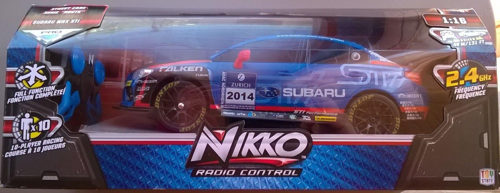 Nikko radio control  Subaru WRX STI 1 16