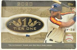 2020-Topps-Tier-One-Baseball-Hobby-Box