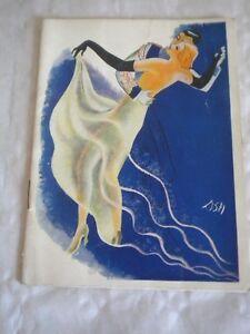 Pre-1940 Vintage Programme Theatre De L'empire Paris 1931 Relieving Rheumatism Playbills