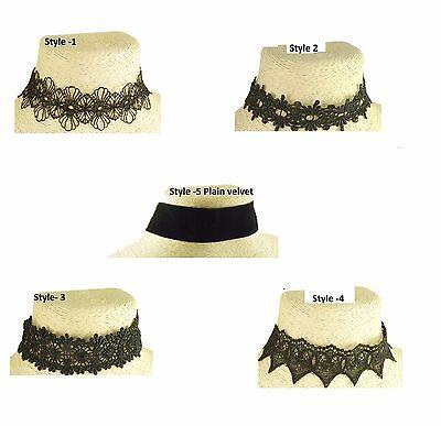 Faux Suede Velvet Bolo Tie Choker  Necklace Silver Tone /& Antique Silver Message