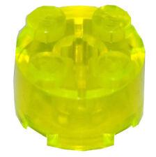 LEGO® 5x Steine Rund 2x2 Transparent Neongreen 3941 NEU