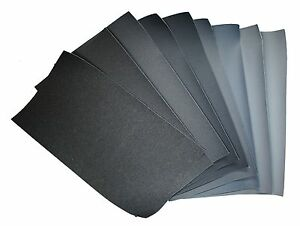 9x Micro Finishing Cloth 1500-12000, Size 18x9cm, Fountain Pen Mesh Polissage Lin 							 							</span>