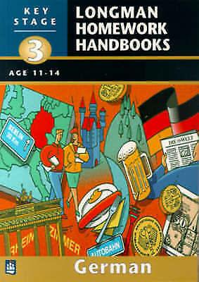Longman Homework Handbooks: Key Stage 3 German pack: Book & cassette by Alex Rei