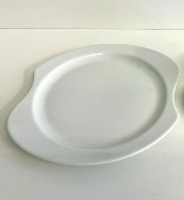 Seltmann Weiden Sketch Teller flach oval 34 cm Dining