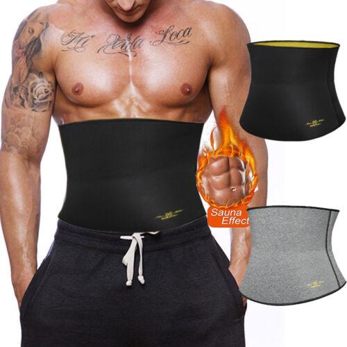 Men Body Underbust Shaper Slimming Waist Trainer Cincher Power Hot Belt Sauna US