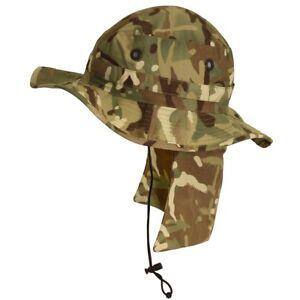 c30358dd721 Genuine British Army Jungle   Bush   Boonie Hat MTP -All sizes ...