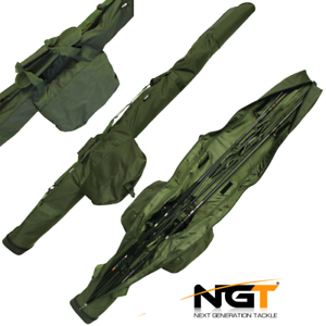 NGT Triple Deluxe Rod Sleeve Holdall Ultimate Predection For 12ft Carp Rods 510
